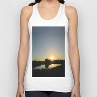 farm Tank Tops featuring Farm Sunset by I AmErika