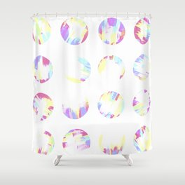 Pastell Dots Shower Curtain