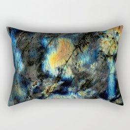Illuminated Structure: Labradorite1 Rectangular Pillow