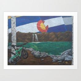 Cruising Colorado Art Print