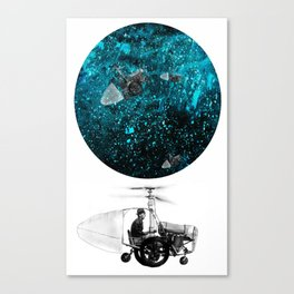 walk in space Canvas Print