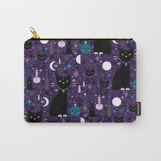 Halloween Kittens  Carry-All Pouch