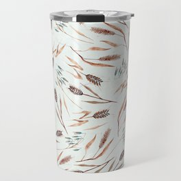 Cereal Field Pattern Travel Mug
