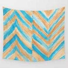 Beach Chevron Wall Tapestry