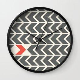 All backfroward - You frontward Wall Clock