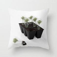 Eco Bulb 6 pack Throw Pillow