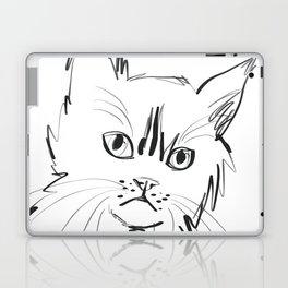 Katzen 003 / Cat Minimal Line Drawing Laptop & iPad Skin