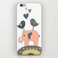 nursery iPhone & iPod Skins featuring Nursery Prints by Dani Jay
