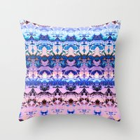 zen Throw Pillows featuring Zen. by Assiyam