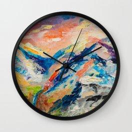 HIMALAYAN LANDSCAPE Wall Clock
