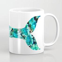 Mermaid Tail Turquoise Mint Aqua Coffee Mug
