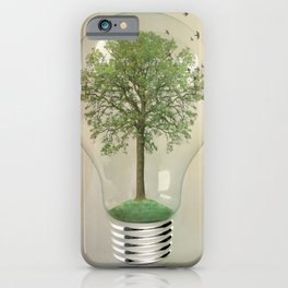 green ideas iPhone Case