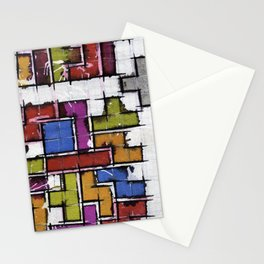 Life as Tetris Stationery Cards