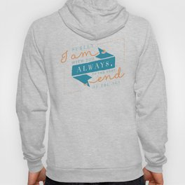 """I am with you"" Bible Verse Print Hoody"