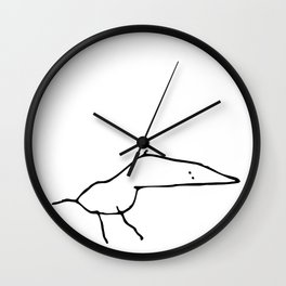 The Black Crow Wall Clock