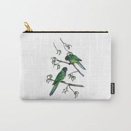 Ringneck Parrots Carry-All Pouch