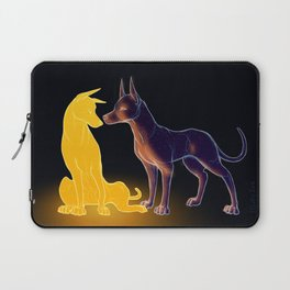 The Sun and the Moon Laptop Sleeve
