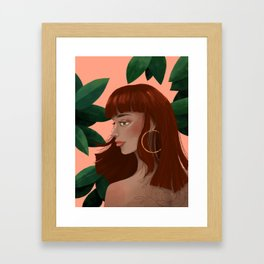 Havana Girl Framed Art Print