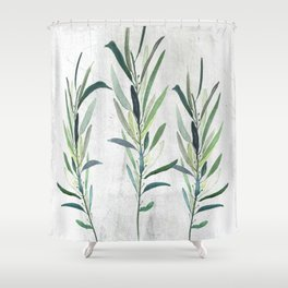Eucalyptus Branches Shower Curtain