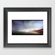 Sky way Framed Art Print