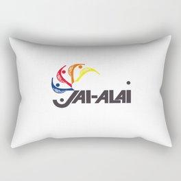 Jai-Alai Logo Color Rectangular Pillow