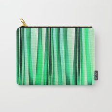 Turquoise Serenity Stripy Pattern Carry-All Pouch