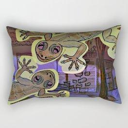 Geckos in the Night / Perenquen Rectangular Pillow