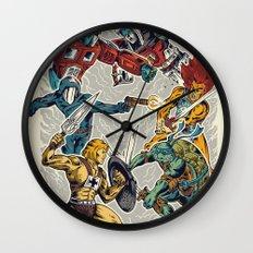 80's Smash Wall Clock