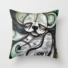 Ted Tag Throw Pillow