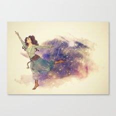 Dance on my own feet Canvas Print