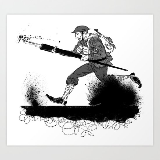 The Pen is Mightier…  Art Print