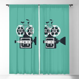 Bicycle Film Blackout Curtain