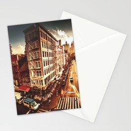 chinatown in manhattan Stationery Cards