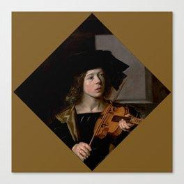 "Frans Hals ""The violinist"" Canvas Print"