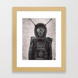 """""""Waitin' for Aliens"""" Framed Art Print"""