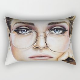 Face for NYC Rectangular Pillow
