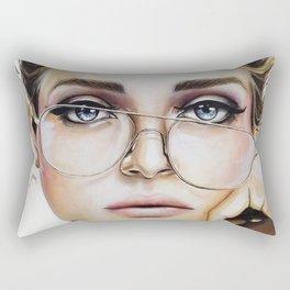 Face for NYC Rectangular Pillow