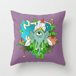 Mind -By Mantle Throw Pillow