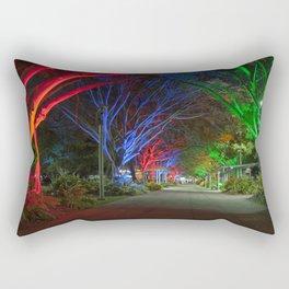 Avenue of lights Rectangular Pillow