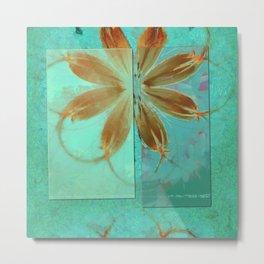 Exposure Reality Flowers  ID:16165-043834-44191 Metal Print