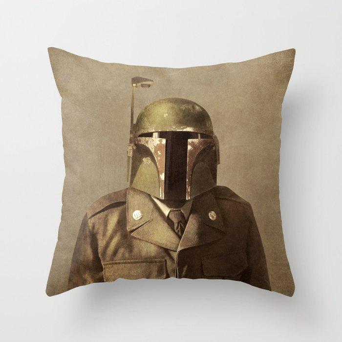 General Fettson Throw Pillow