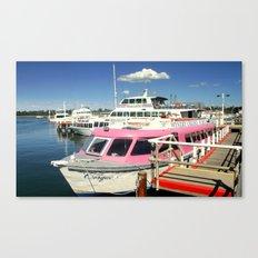 Colourful Boat Canvas Print