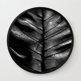 Dragon Spine (Black Version) Wall Clock
