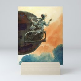 Big wheel Mini Art Print