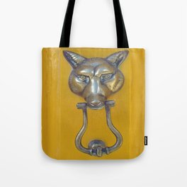 What the Fox Head Said Tote Bag
