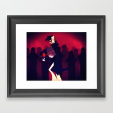 Locked Inside Framed Art Print