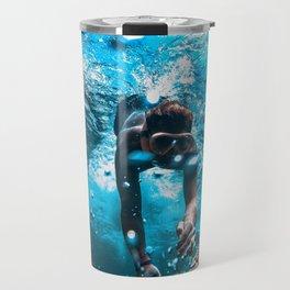 Diving in Spain Travel Mug