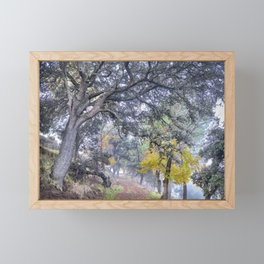 Mountain path. Autumn dreams. Sierra Nevada Framed Mini Art Print