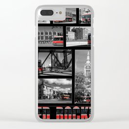Red Rocket 28 Clear iPhone Case