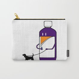 Codeine Bottle Walking the Dog Carry-All Pouch